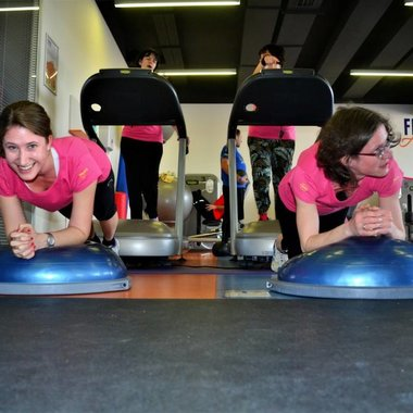 The Clarion Congress Hotel Prague supported the 24-hour marathon to help people suffering from multi