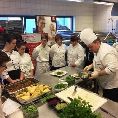 Young cooks trained under the guidance of professionals at the Clarion Olomouc