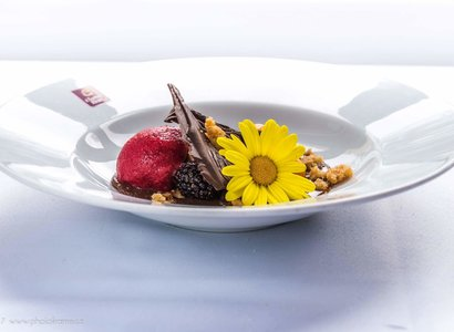 The Benada Restaurant at Clarion Grandhotel Zlatý Lev in Liberec is the best in the region