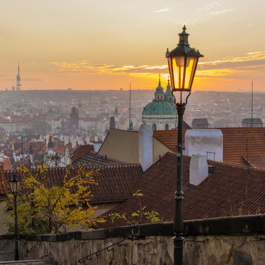 The joy of Autumn in Prague